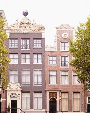 Apollo and Minerva - Amsterdam Architecture Photo