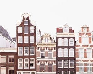 Bloemenmarkt Canal Houses - Amsterdam Canal Houses Photo