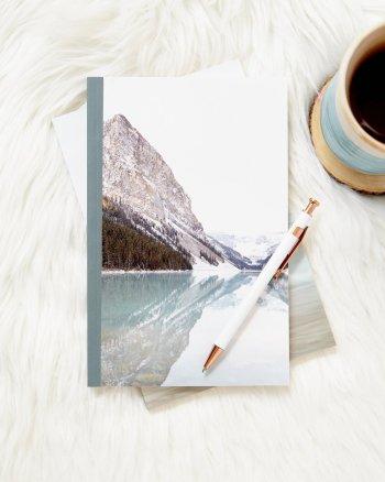 Reflecting at Lake Louise Notebook