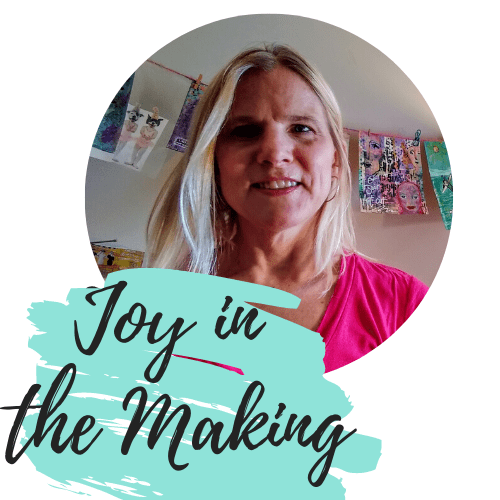 Profile picture, Joy in the Making logo.