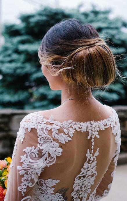 bridal updo - back 3