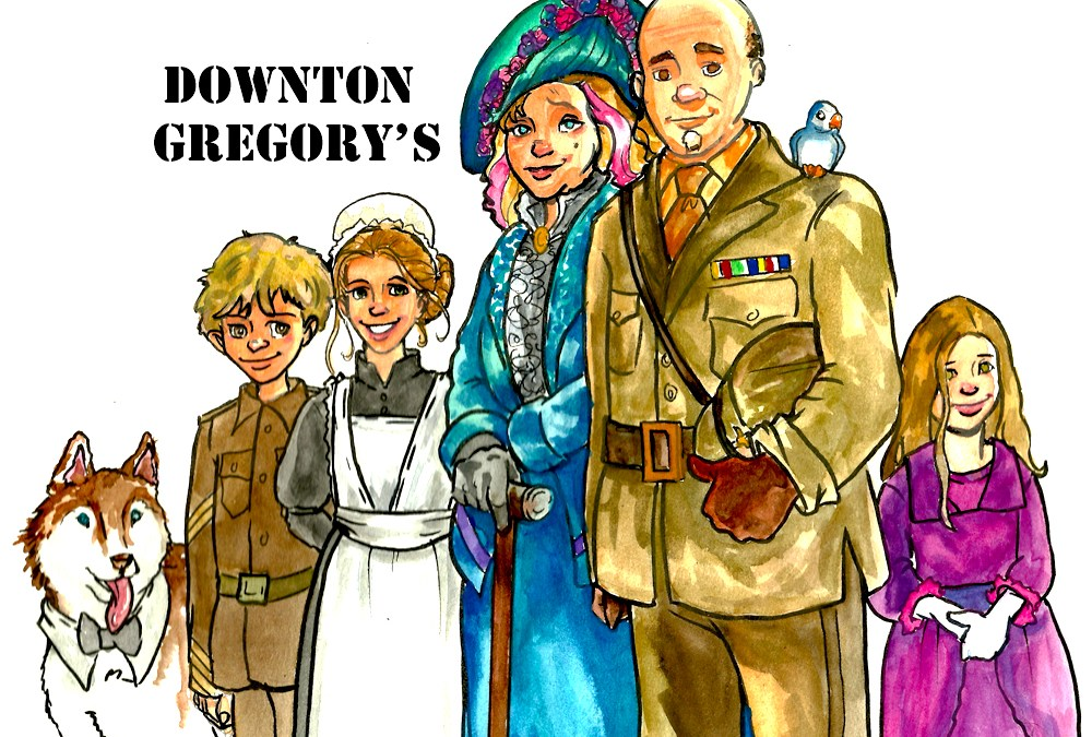 Downton Abby–Gregory style