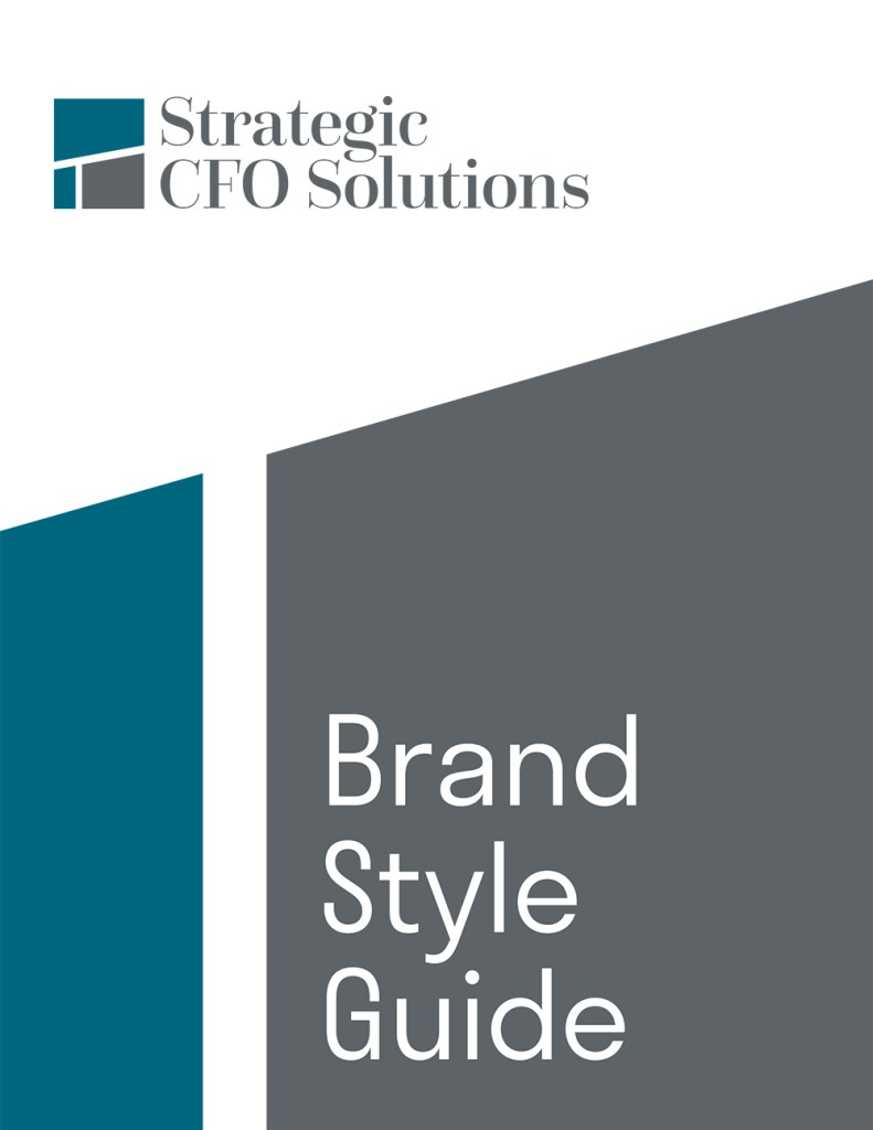 Brand Style Guide Cover