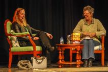 Festival presenter - Laughing about serial killers in the outback with Candice Fox!