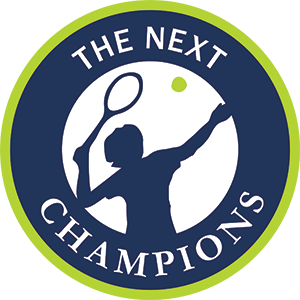 The Next Champions Tennis logo design
