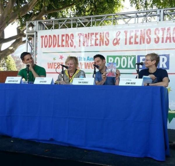 WeHo Book Fair panel