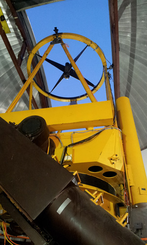 WIRO telescope points to the stars