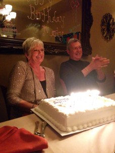 Celebrated a surprised 70th birthday party for my mom.
