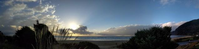 The Oregon Coast for a cold, November writing retreat.