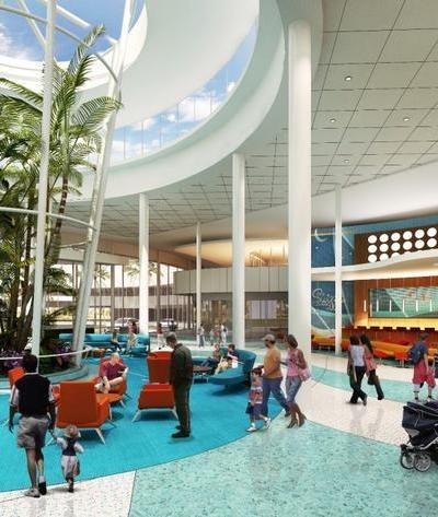 Universal's New Cabana Bay Beach Resort In Orlando Florida 2014