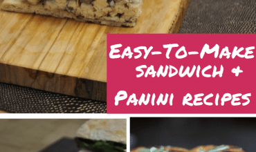 Easy-to-Make Sandwich and Panini Recipes