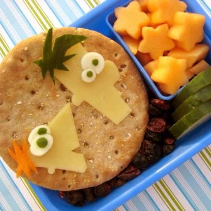 Phineas and Ferb Bento Box | #LunchIdeas http://jennsblahblahblog.com #jbbb