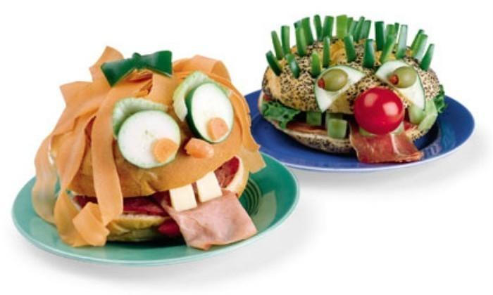 Silly Face Sandwich | #LunchIdeas http://jennsblahblahblog.com #jbbb