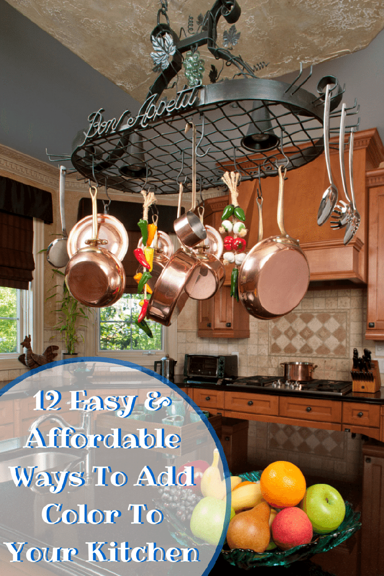 12 Easy Affordable Ways To Add Color To A Kitchen