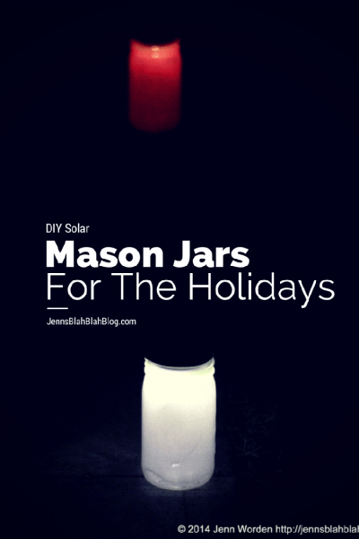 Energy-Saving DIY Projects: Solar Mason Jar Lights