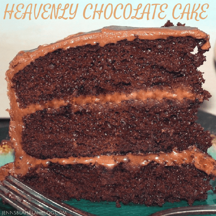 Miracle Whip Heavenly Chocolate Cake