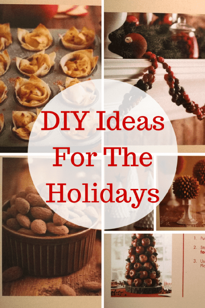 Easy & Fun Crafts & DIY Ideas For The Holidays