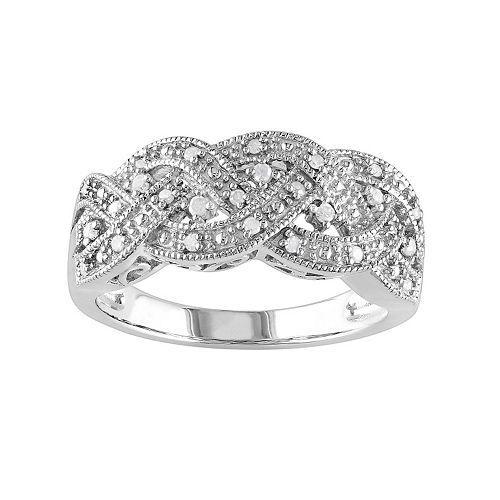 Chocolate Wedding Ring 97 Spectacular T W Diamond Braided