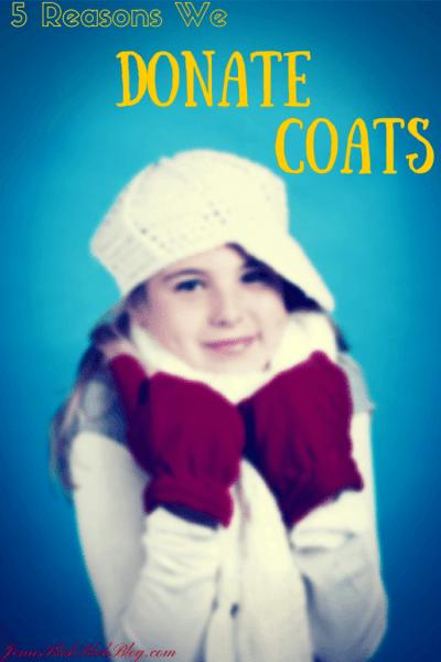 5 Reasons I Donate Coats