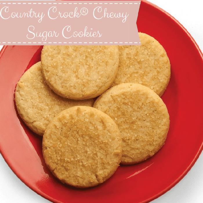 Country Crock® Chewy Sugar Cookies