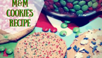 M&M Chocolate Espresso Peppermint Bites & Salted Carmel Cookies Recipe