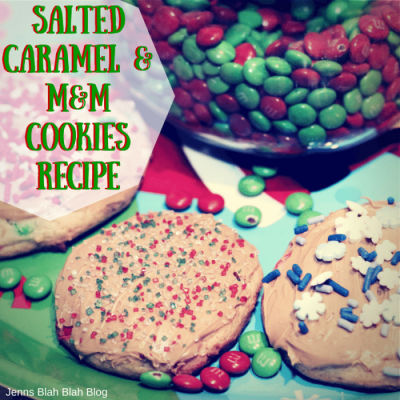 M&M Chocolate Espresso Peppermint Bites & Salted Carmel Cookies Recipe