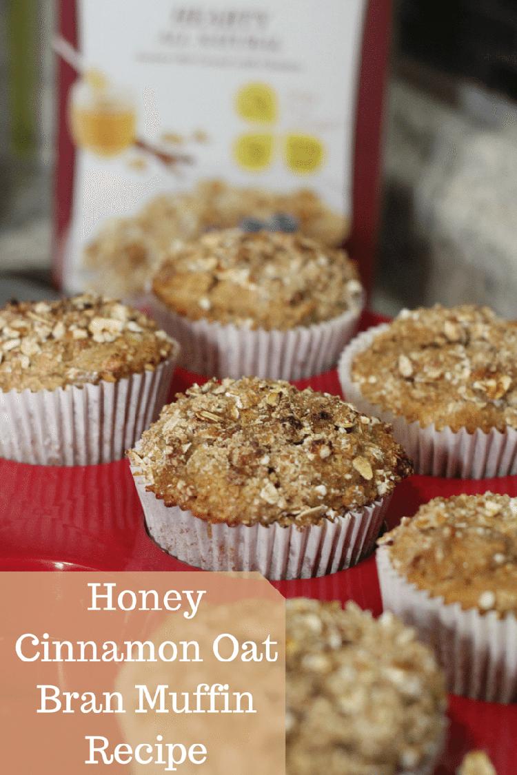 Honey Cinnamon Oat Bran Muffin Recipes