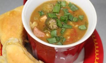 Chicken and Kielbasa Gumbo Recipe