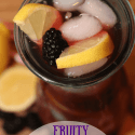 Spring Drink Recipe Ideas | Blackberry Lemonade & Pink Sherbet Punch