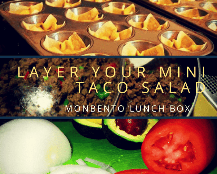 Monbento Mini Taco Salad