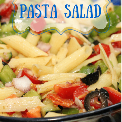 Penne Greek Pasta Salad