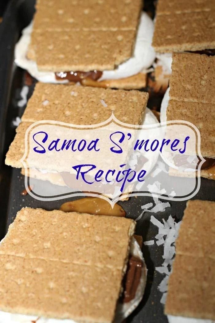 Samoa S'mores Recipe