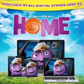 Digital HD release of HOME #HomeMovieParty Twitter Party