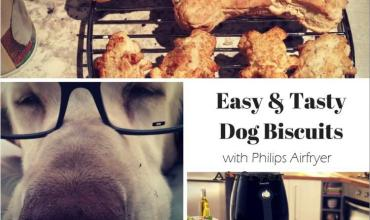 Protected: Easy and Tasty Dog Biscuits with Philips Airfryer