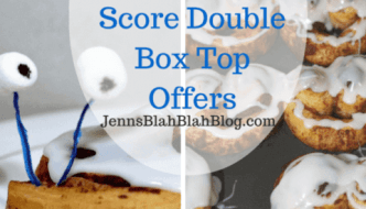 Back To School Recipes to Score Double Box Top Offers