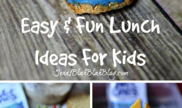 Three Fun & Easy Back To School Lunch Ideas for Kids