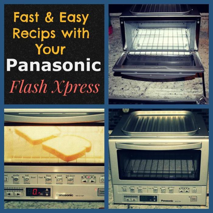 Fast and Easy Recipes with Your Panasonic Flash Xpress
