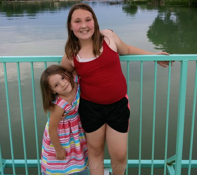 pictures of kids jenn brockman daughters madisyn and vayda brockman/worden