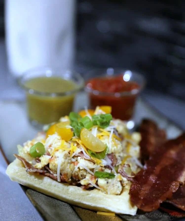 Waffle Breakfast Tacos