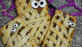 Halloween Mummy Pumpkin Pop Tarts Recipe
