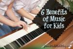 6 Benefits of Music for Kids