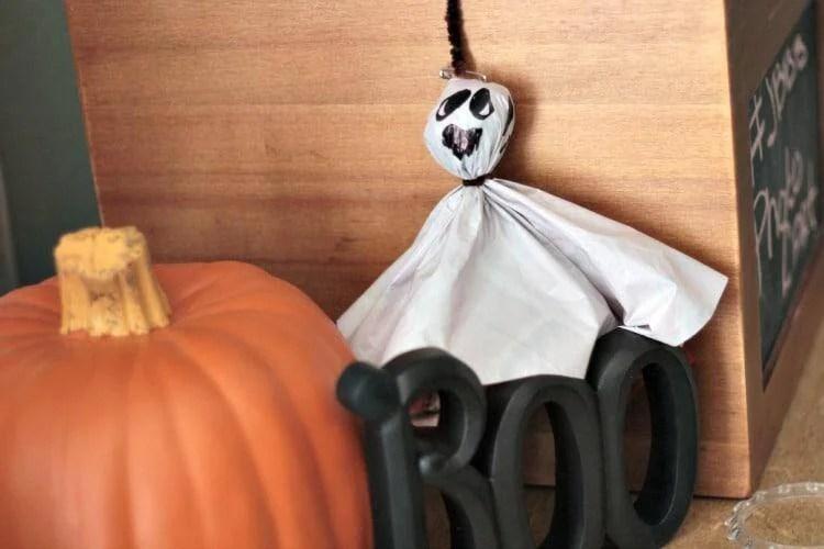 Halloween ghost props craft