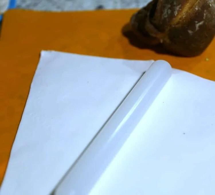 white fondant