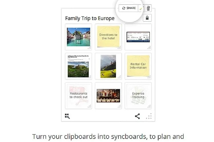 stay organized with clipix