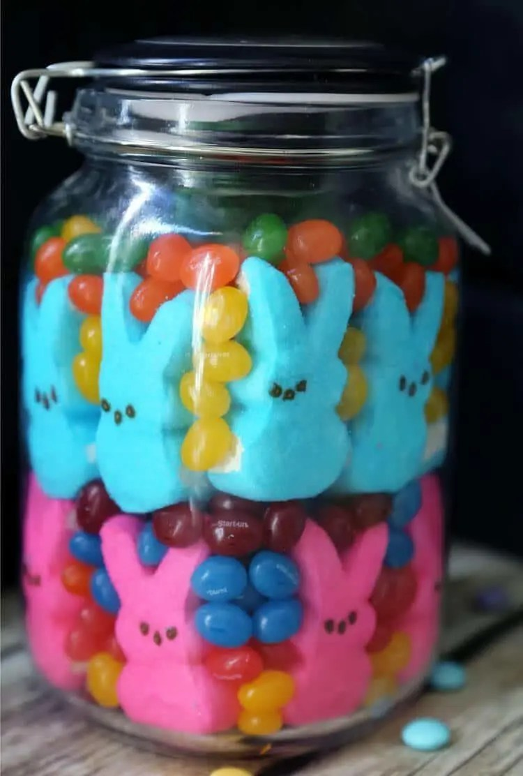 easter candy decor