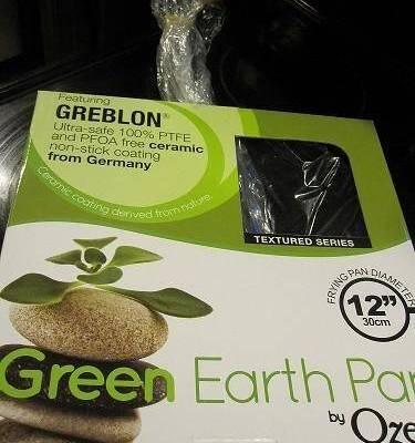 12 Inch Green Earth Fry Pan
