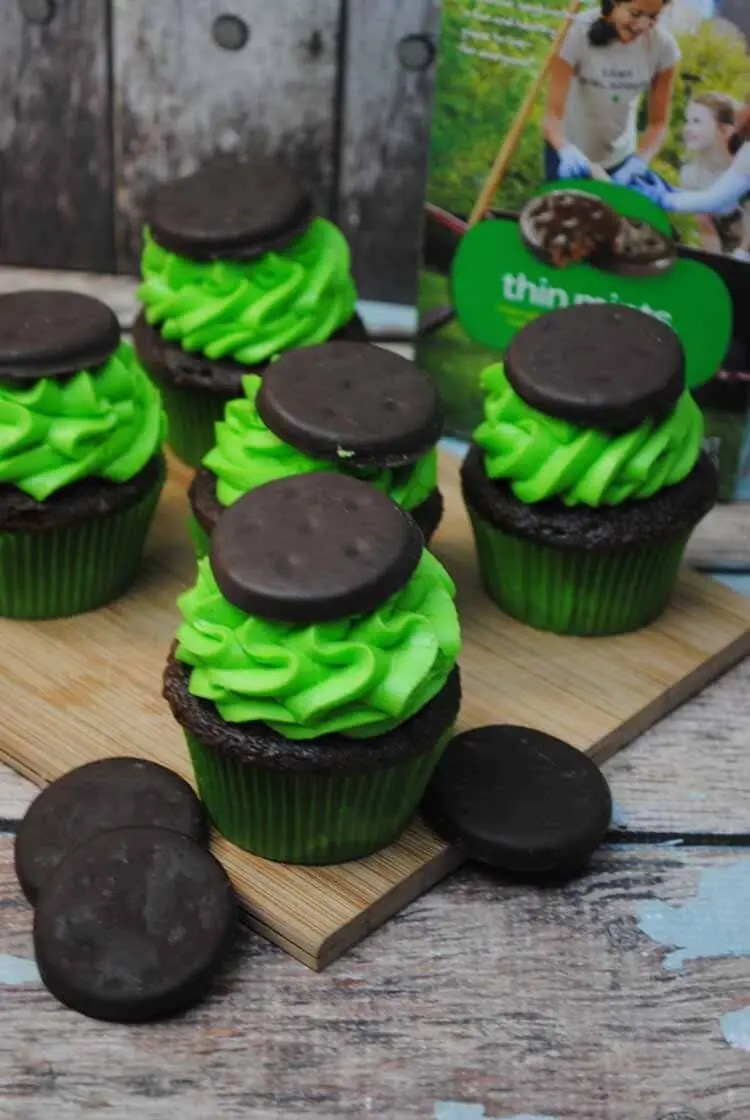 Thin Mint Cupcakes 3