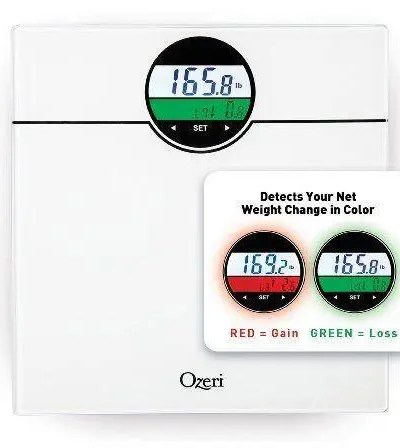 Digital Bath Scale & BMI with Weight Change Detection