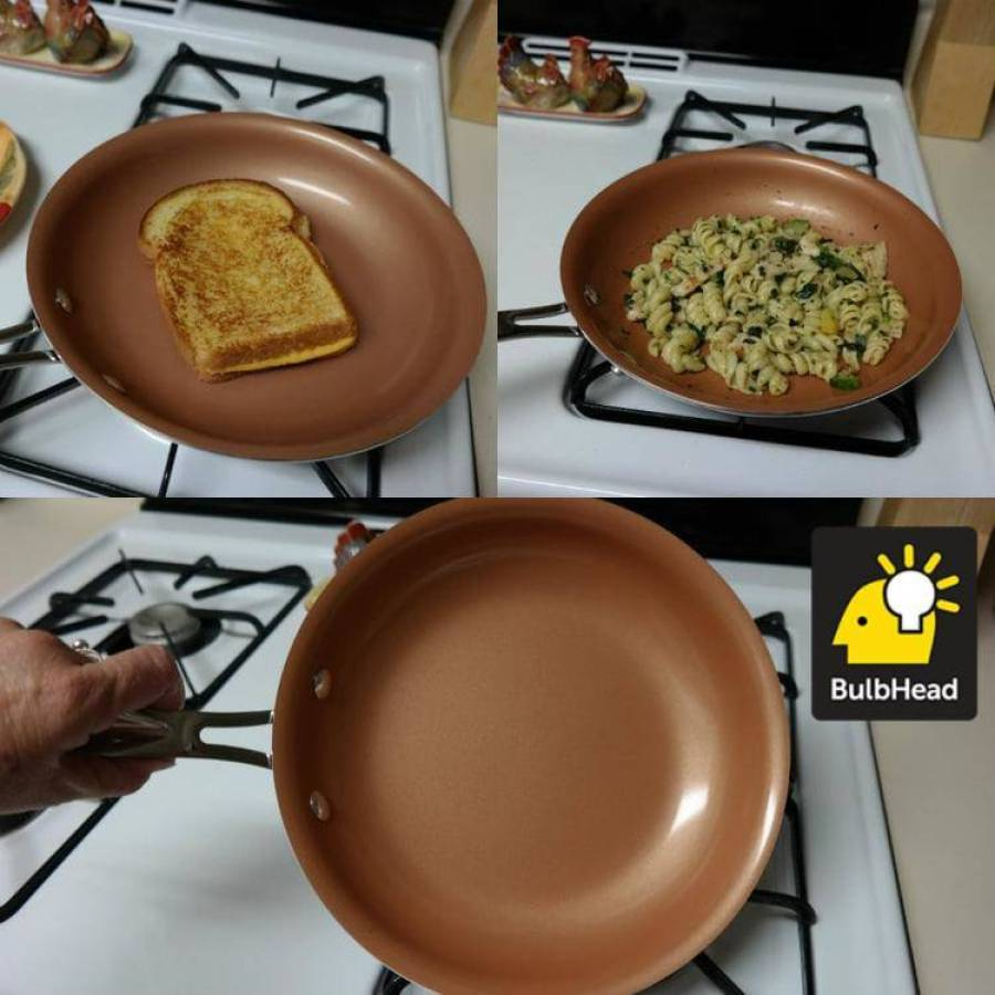 Do Non Stick Pans Really Work The Red Copper Pan Does