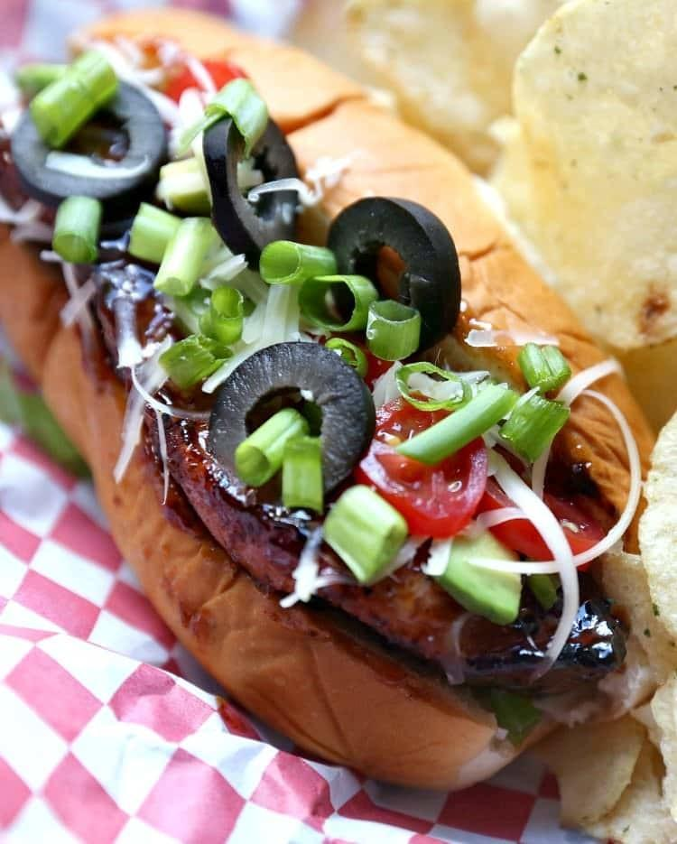 Grilled BBQ Ribs Dog Recipe